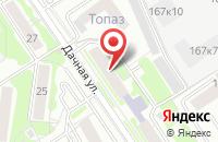 Схема проезда до компании Джемини Электро в Новосибирске