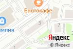 Схема проезда до компании Регион А в Новосибирске
