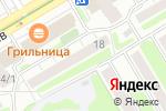 Схема проезда до компании Альянс-Профи в Новосибирске
