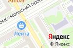 Схема проезда до компании Магазин кондитерских изделий в Новосибирске