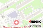 Схема проезда до компании Студия красоты и здоровья в Новосибирске