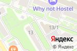 Схема проезда до компании ПРАЙМ ГРУП в Новосибирске