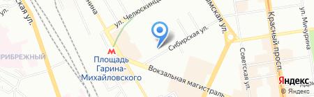 СибСтройКомплект на карте Новосибирска
