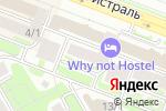 Схема проезда до компании Город-Н в Новосибирске