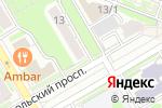 Схема проезда до компании Элекон-Сервис в Новосибирске