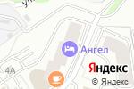 Схема проезда до компании Ваниль в Новосибирске
