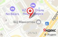 Схема проезда до компании Сити Лайн в Новосибирске