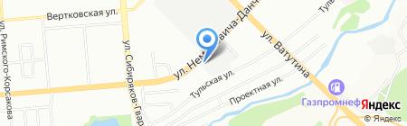 Альфа на карте Новосибирска