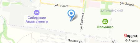 Жасмин на карте Новосибирска