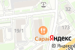 Схема проезда до компании Багетная мастерская в Новосибирске