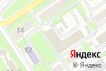 Схема проезда до компании Автоприбор в Новосибирске