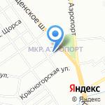 ДОМОВЕНОК на карте Новосибирска