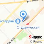 Банкомат на карте Новосибирска