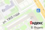 Схема проезда до компании Киоск фастфудной продукции в Новосибирске