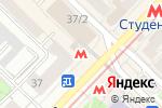 Схема проезда до компании Анжело в Новосибирске