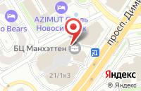 Схема проезда до компании Модо в Новосибирске