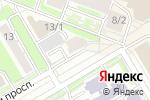 Схема проезда до компании ALDO COPPOLA в Новосибирске
