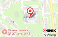Схема проезда до компании Квартет Плюс в Новосибирске
