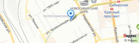Центр коммерческой недвижимости на карте Новосибирска