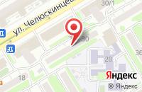Схема проезда до компании Продюсерский центр  в Новосибирске