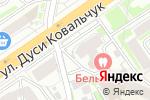 Схема проезда до компании Сам мастер в Новосибирске