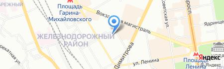 Новосибирская специальная музыкальная школа-колледж на карте Новосибирска
