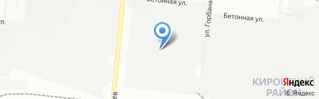 УралМашДеталь на карте Новосибирска