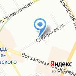 Автомагазин аккумуляторов и автоаксессуаров на карте Новосибирска