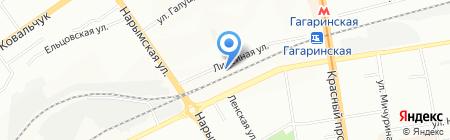ШарабанАтака на карте Новосибирска