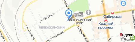 ИМИДЖ ЛЮКС на карте Новосибирска