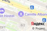 Схема проезда до компании ТКАНИ МИРА в Новосибирске