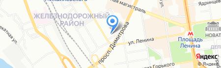 Новые Технологии на карте Новосибирска