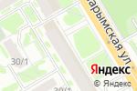 Схема проезда до компании Автотрейд-НСК в Новосибирске