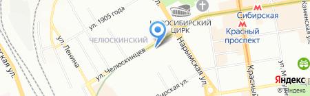 Ветеринарная аптека на карте Новосибирска