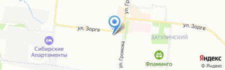 Огородник на карте Новосибирска