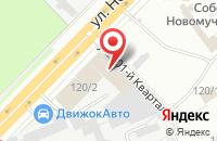 Схема проезда до компании Инжиниринговый Центр «Продукты Питания» в Новосибирске