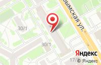 Схема проезда до компании Бизнеслига в Новосибирске