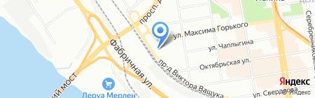 Деревянные строительные технологии на карте Новосибирска