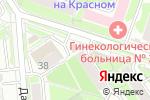 Схема проезда до компании Новый инструмент в Новосибирске
