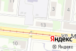 Схема проезда до компании Le Button в Новосибирске