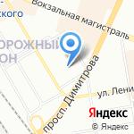 Оригами на карте Новосибирска