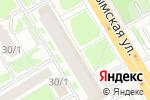 Схема проезда до компании Чиветта в Новосибирске