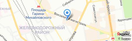 Всё к столу на карте Новосибирска