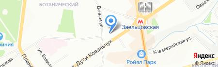 Для вас на карте Новосибирска