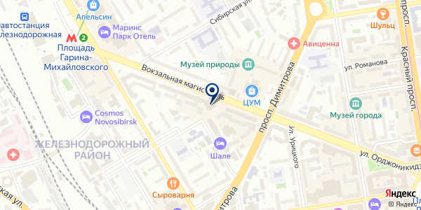 Cop-x на карте Новосибирске