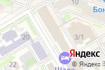 Схема проезда до компании Финансовая компания Сибхимпроект в Новосибирске