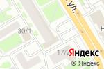 Схема проезда до компании Холидей Классик в Новосибирске