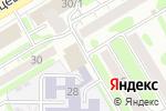 Схема проезда до компании ГенИнжПроект в Новосибирске
