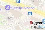 Схема проезда до компании Всё к столу в Новосибирске