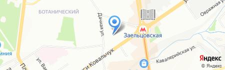 Детский сад №12 на карте Новосибирска
